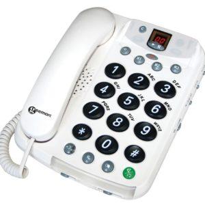 Téléphone fixe sénior