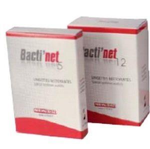 BACTI'NET lingettes x 12 sachets