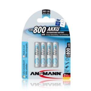Ansmann AAA piles 4-Blister